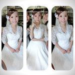 bride makeup hong kong,新娘婚紗造型,教堂新娘造型,教堂婚紗造型,教堂新娘化妝,