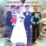 hk bigday,教堂新娘造型,婚紗化妝,新娘婚紗化妝