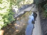 經一水渠位, 其實這裏是蓮花石澗口 DSCN4771