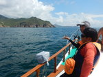 前見長岩灣, 睇魚岩頂及企角頭, 遠處見東灣山 DSCN6849