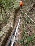 我則再走山路中途左沿去水道回入澗去 DSCN0028