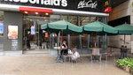 數碼港商場的麥當勞有戶外座位 DSC02870