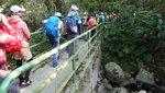 過上麻雀嶺村旁石橋, 橋下便是麻雀坑 DSC03927
