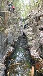 回入澗中己是石澗上源位置 DSC00035