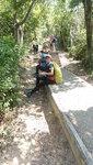 山路經程其坑至箕勒仔山(256m)接石級大路右走登北大刀屻山頂 DSC00383