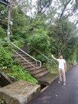 靈風雅舍前轉右接山路上茅湖山 DSCN3816