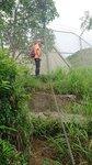 上至鐵絲網, 網內是配水庫, 沿鐵絲網右走 DSC_0463