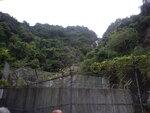 上至引水道馬路左走少少便見到香粉寮坑口的大壁 DSCN4969
