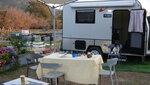 JK Club 露營車2人車前有枱椅和燒烤爐 DSC02168