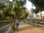 東涌消防局集合起步, 走裕東路 DSCN5757