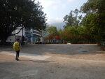轉松滿路至學校前轉右走學校旁小徑 DSCN5758