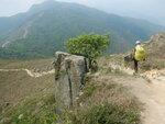 落二白坳途中, 前見榴花峒和老虎頭 DSCN5912