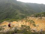 見有隊友在山腳上山途中, 又要扯山? 救命 a r r r  DSC04103