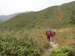 落至一山坳位 DSC04145