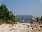 連島沙堤上左望八仙嶺 DSC04582