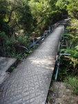 過一橋, 橋下是曹溪, 又叫地塘仔坑, 是北天門石澗下源澗段 DSC08198