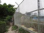 鐵絲網內是鴨脷洲配水庫 DSC08588