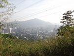 小徑中遙望九徑山及屯門市鎮 DSC00035
