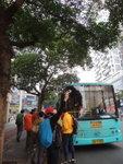 85號巴士到, 就坐805啦, 盛惠每人2元, 有售票員 DSC01893