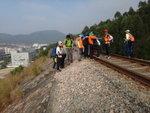 石級接火車軌位 DSC01915