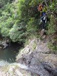 回望山路接瀑頂位 DSC02186