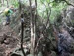 右邊瀑壁, 左邊上 DSC02254