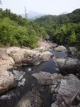 下降猴塘溪, 遙望蚺蛇尖 DSC02293