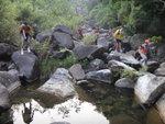 大隊繼續下降猴塘溪下游 DSC02396
