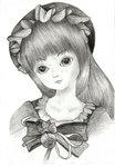 漂亮的SD娃娃被我畫成造個樣子~@@~汗...