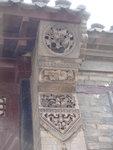 石家大院的建筑中一大特色就是砖雕,这是整体建筑中最大块也是工艺最繁杂的一处