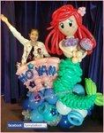 美人魚氣球擺設 (作為女兒的生日禮物最適合不過)