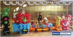 TSUM TSUM 火車氣球佈置