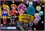 生日氣球派對,你想有咩人物陪你一齊渡過?聯絡我地,一定有辦法