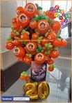 神話樂隊氣球橙樹禮物,希望你地會喜歡