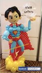 超人氣球公仔