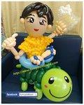 氣球烏龜公仔