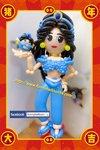 氣球茉莉公主造型