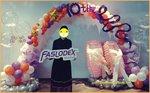 10周年舞者氣球拱門佈置