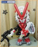 Gundam Astray 紅異畢業氣球公仔