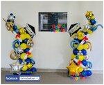 畢業典禮氣球柱