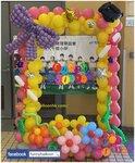 畢業氣球相框(高6尺 闊4尺)