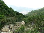 010:屯門徑2段旁裂祧石坑上接九逕山坳