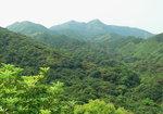 026:遠眺東洋山、大老山(大輋登石芽背途中)