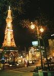 冬日的札幌, 不到六時已漆黑. 7F1010038