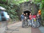 舊草嶺隧道現成為單車徑