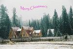 聖誕快樂 -- 喀納斯湖畔小屋