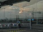 機場外看日出
