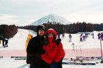 富士山呀!快d映 la!好凍喎!