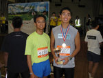 It's rare to finish early than Donald, my CHECSS schoolmate in a race.  His team finished in 6: 58, 6th in Open Team Category.