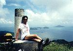 Lantau Trail Stage 4-6, 17/6/2001   Kwun Yam Shan 觀音山, 434m